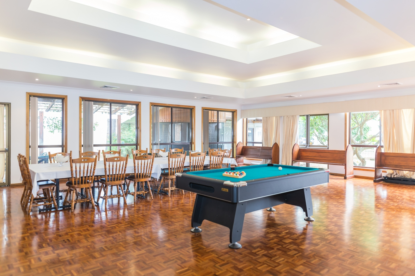 the heritage - large dining pool room 1